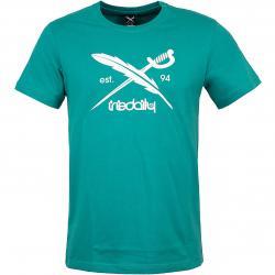 Iriedaily T-Shirt Daily Flag türkis