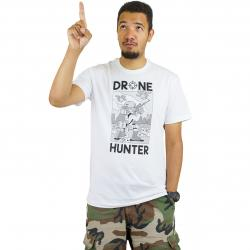 Iriedaily T-Shirt Drone Hunter weiß