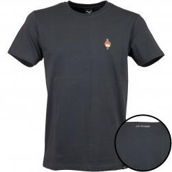 Iriedaily T-Shirt Flutscher Embroidered coal