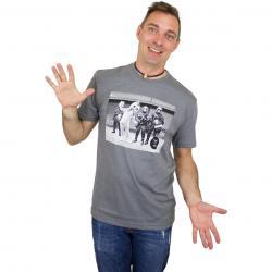 Iriedaily T-Shirt Funky Chicken dunkelgrau