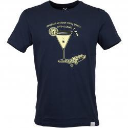 Iriedaily T-Shirt Good Story dunkelblau
