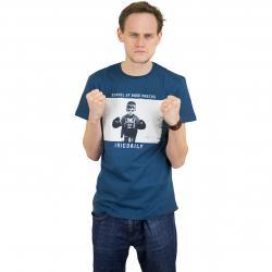 Iriedaily T-Shirt Hard Knock dunkelblau