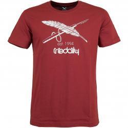 Iriedaily T-Shirt Harpoon Flag rot