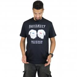 Iriedaily T-Shirt It Doesnt Matter schwarz