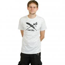Iriedaily T-Shirt Mesh Flag weiß