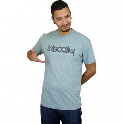 Iriedaily T-Shirt No Matter 4 mint/grau