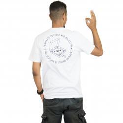 Iriedaily T-Shirt Pizza weiß