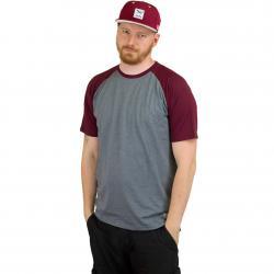 Iriedaily T-Shirt Rugged weinrot
