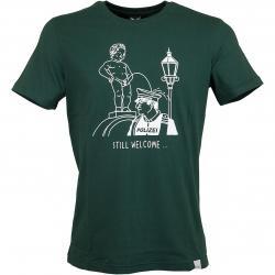 Iriedaily T-Shirt Still Welcome hunter