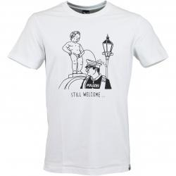 Iriedaily T-Shirt Still Welcome weiß