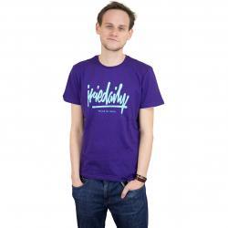 Iriedaily T-Shirt Tagg Ahead dk purple