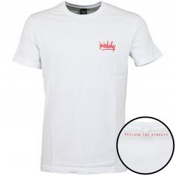 Iriedaily T-Shirt Tagg weiß/rot