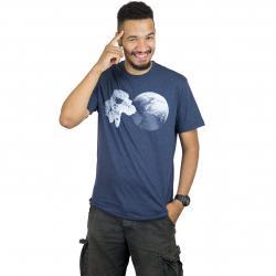 Iriedaily T-Shirt With Stupid dunkelblau
