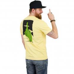 Iriedaily T-Shirt WTFucktus gelb