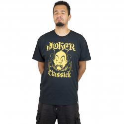 Joker Brand T-Shirt Classick Clown schwarz/gold