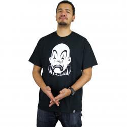 Joker Brand T-Shirt Clown Basic schwarz