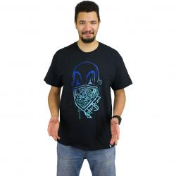 Joker Brand T-Shirt Clown Brand schwarz/blau