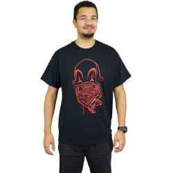 Joker Brand T-Shirt Clown Brand schwarz/rot