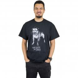 Joker Brand T-Shirt Dogs schwarz