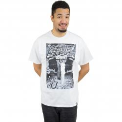 Joker Brand T-Shirt Gun weiß