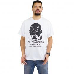 Joker Brand T-Shirt Lifestyle weiß