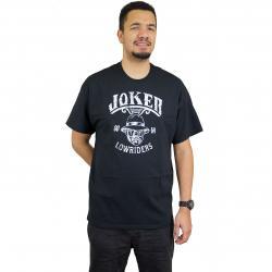 Joker Brand T-Shirt Lowriders schwarz