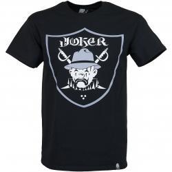 Joker Brand T-Shirt Raiders schwarz
