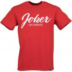 Joker Brand T-Shirt Script rot