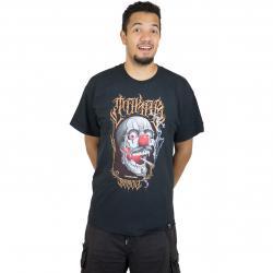 Joker Brand T-Shirt Skull schwarz