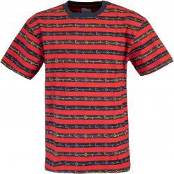 Kani Originals Stripe T-Shirt rot