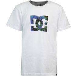 DC Star Tie Dye Fill Kinder T-Shirt weiß