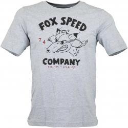 Fox Head Kinder T-Shirt Bomber grau