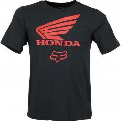 Fox Head Kinder T-Shirt Honda schwarz