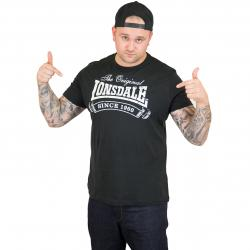 Lonsdale T-Shirt Martock schwarz