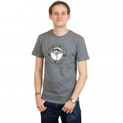 Mahagony T-Shirt Karma grau