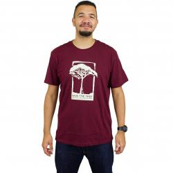 Mahagony T-Shirt Nu Save burgundy