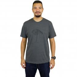 Mahagony T-Shirt Poetree charcoal