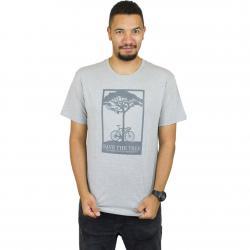 Mahagony T-Shirt Save grau/dunkelgrau