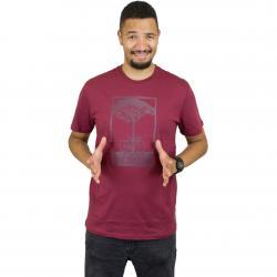 Mahagony T-Shirt Save maroon/win