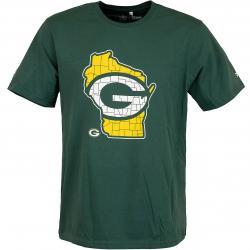 Majestic T-Shirt NFL HT Packers grün