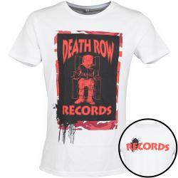 Mister Tee T-Shirt Death Row Camo weiß/rot