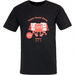 Mister Tee T-Shirt Japanese Sushi schwarz