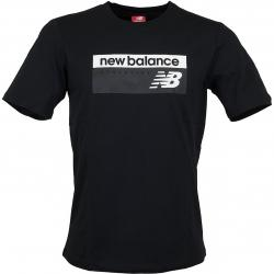 New Balance T-Shirt Athletic Banner schwarz