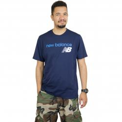 New Balance T-Shirt Athletics WC dunkelblau