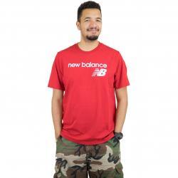 New Balance T-Shirt Athletics WC rot