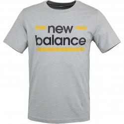 New Balance T-Shirt Classic Graphic grau