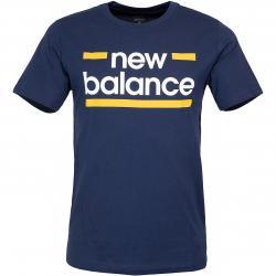 New Balance T-Shirt Classic Graphic dunkelblau