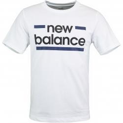 New Balance T-Shirt Classic Graphic weiß