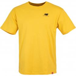New Balance Essential Embroidered T-Shirt gelb
