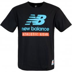 New Balance Essential Field Day Logo T-Shirt schwarz
